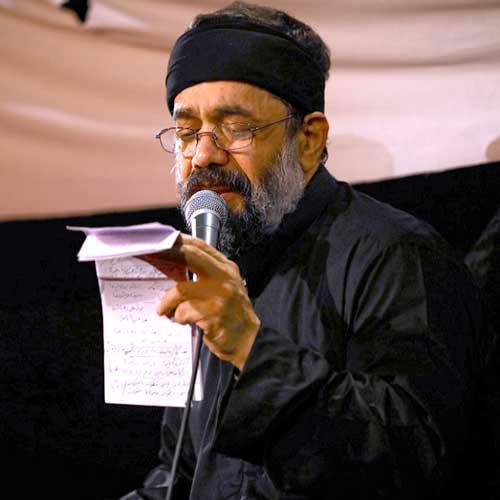 مداحی محمود کریمی سرم خاک کف پای حسین است